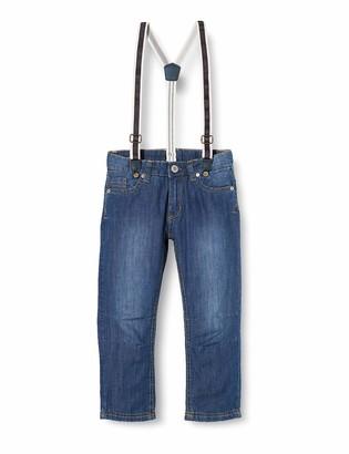 Steiff Boy's Hose m. Hosentragern Jeans
