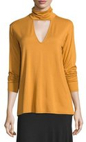 Rachel Pally Marla Cutout Turtleneck Top