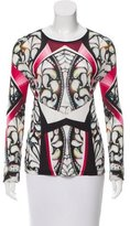 Peter Pilotto Long Sleeve Digital Print Top