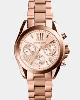 Michael Kors Mini Bradshaw Rose Gold-Tone Chronograph Watch