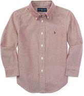 Ralph Lauren Long-Sleeve Oxford Shirt