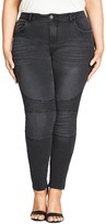 City Chic Night Rider Skinny Jeans