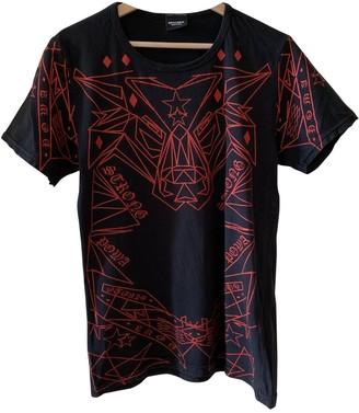 Marcelo Burlon County of Milan Black Cotton T-shirts