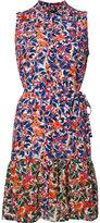 Saloni Tilly ruffle mini dress