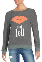 Wildfox Couture Kiss & Tell Sweatshirt