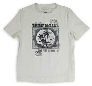 Tommy Bahama Boy's Graphic Short-Sleeve Rashguard