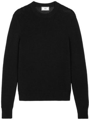 Ami Paris Waffle Knit Sweater