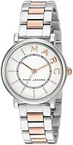 Marc Jacobs Women's 'Roxy' Quartz Stainless Steel Casual Watch, Color:Silver-Toned (Model: MJ3553)