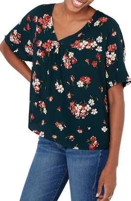Madewell Spruce Blooms Rhyme Top