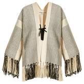 Apiece Apart Chan Chan fringed jacket
