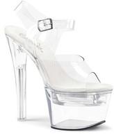 Pleaser USA Women's Flashdance 708 Ankle-Strap Sandal