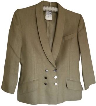 Cerruti Beige Linen Jacket for Women Vintage