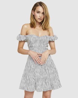 Ids Sara Off Shoulder Dress