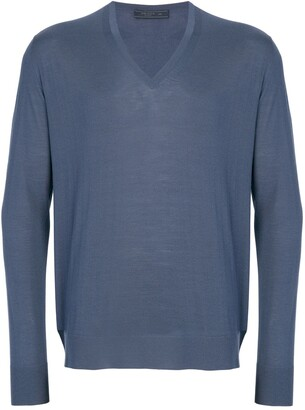 Prada V-Neck Pullover
