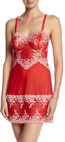 Wacoal Embrace Lace Chemise, Tango Red/Coral