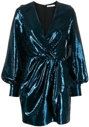 Amen sequin-embellished mini dress