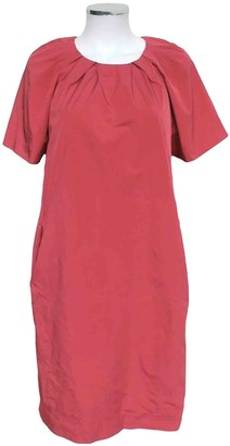 Marni Pink Polyester Dresses