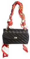 Balenciaga Medium Lock Round Logo Shoulder Bag With Silk Scarf - None