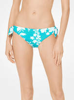 Michael Kors Floral Bikini Bottom