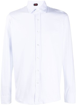Mp Massimo Piombo Logo-Patch Dress Shirt