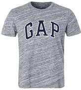 Gap Gap Arch Print Tshirt Space Dye Grey Marl