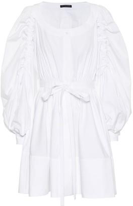 Alexander McQueen Cotton minidress