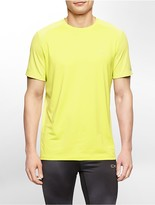 Calvin Klein Performance Mesh Detail Jersey Short Sleeve Shirt