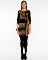 Le Château Stripe Sweater Dress