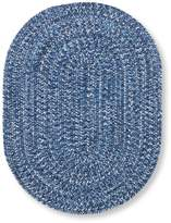 L.L. Bean All-Weather Braided Rug, Concentric Pattern