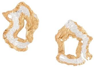 LOVENESS LEE Soleil hammered hoop earrings