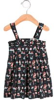 Oeuf Girls' Bear Print Dress-Skirt