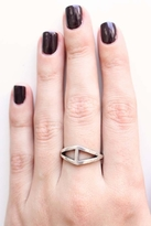Low Luv x Erin Wasson by Erin Wasson Triangle Ring in Silver
