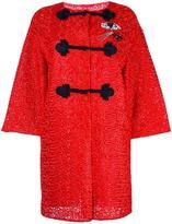 Ermanno Scervino embellished oriental coat