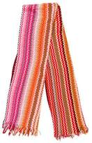 Missoni Knit Fringe Scarf w/ Tags