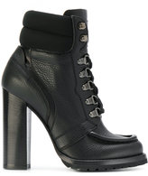 Ermanno Scervino lace-up chunky heeled boots