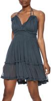 Vintage Havana Crinkle Strappy Dress