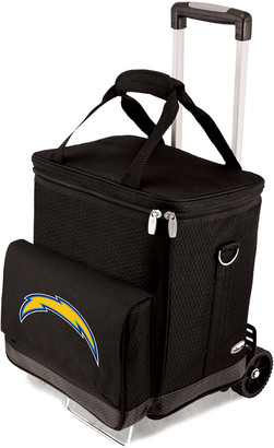 Legacy Cellar & Trolley With Los Angeles Chargers Digital Print
