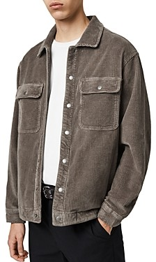 AllSaints Castleford Corduroy Relaxed Fit Overshirt