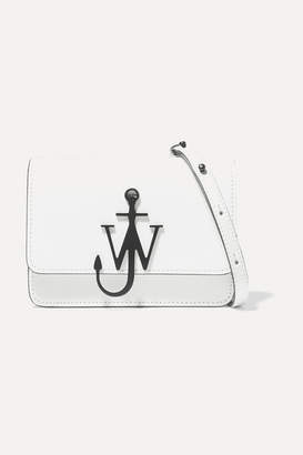 J.W.Anderson Logo Mini Leather Shoulder Bag - White