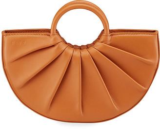 DLYP Bender Mini Pleated Calfskin Tote Bag