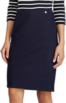 Lauren Ralph Lauren Javinay Straight Skirt, Royal Navy