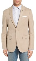 Sand Men's Trim Fit Cotton & Linen Blazer