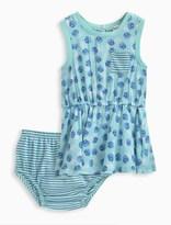 Splendid Baby Girl Dot Dress and Bloomer