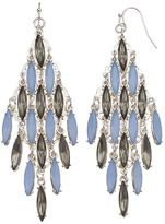JLO by Jennifer Lopez Blue Marquise Kite Earrings