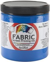 Speedball Art Products Fabric Screen Printing Ink, 8-Ounce, Blue
