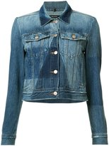 J Brand panelled denim jacket