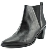 Dune London Preslee Women Pointed Toe Leather Black Ankle Boot.
