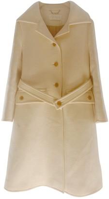 Chloé White Wool Coat for Women