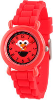 Sesame Street Boys Red Strap Watch-Wss000027