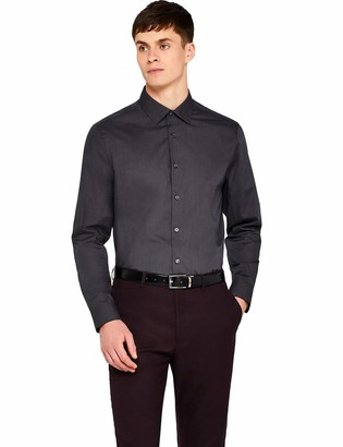 Find. Amazon Brand Men's Pd000560 Long Sleeve Formal Shirt